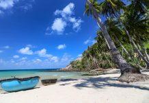 Bãi Cây Mến Nam Du biển xanh cát trắng