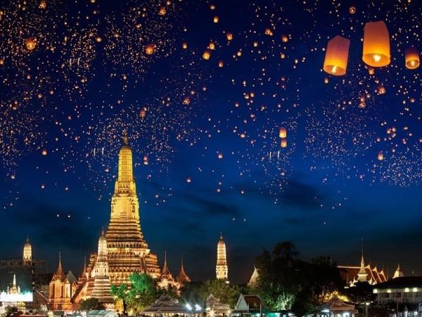 Du lịch Thái Lan: Tìm hiểu lễ hội Hoa Đăng Yi Peng